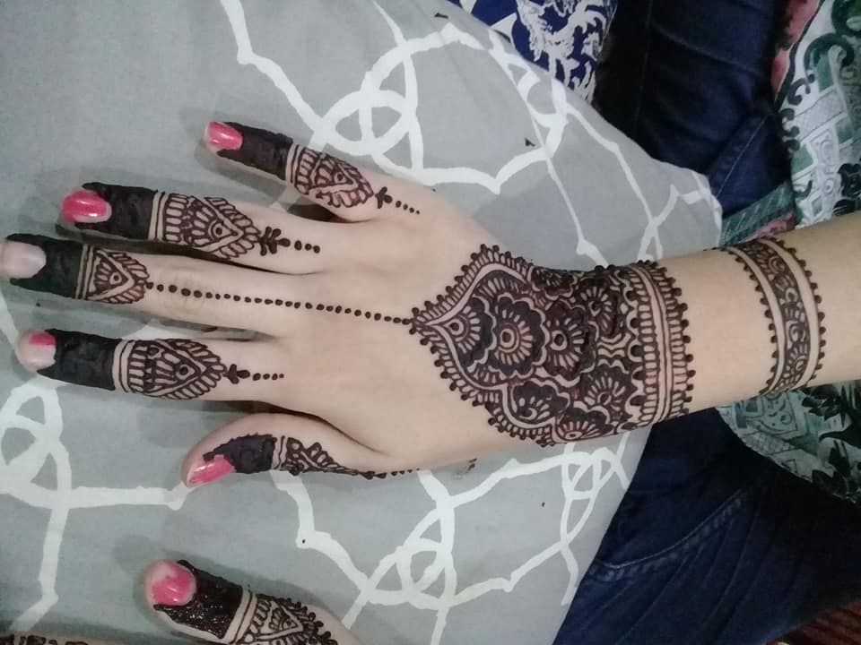 Simple Arabic Mehndi Designs For Beginners Home Step By | Flisol Home