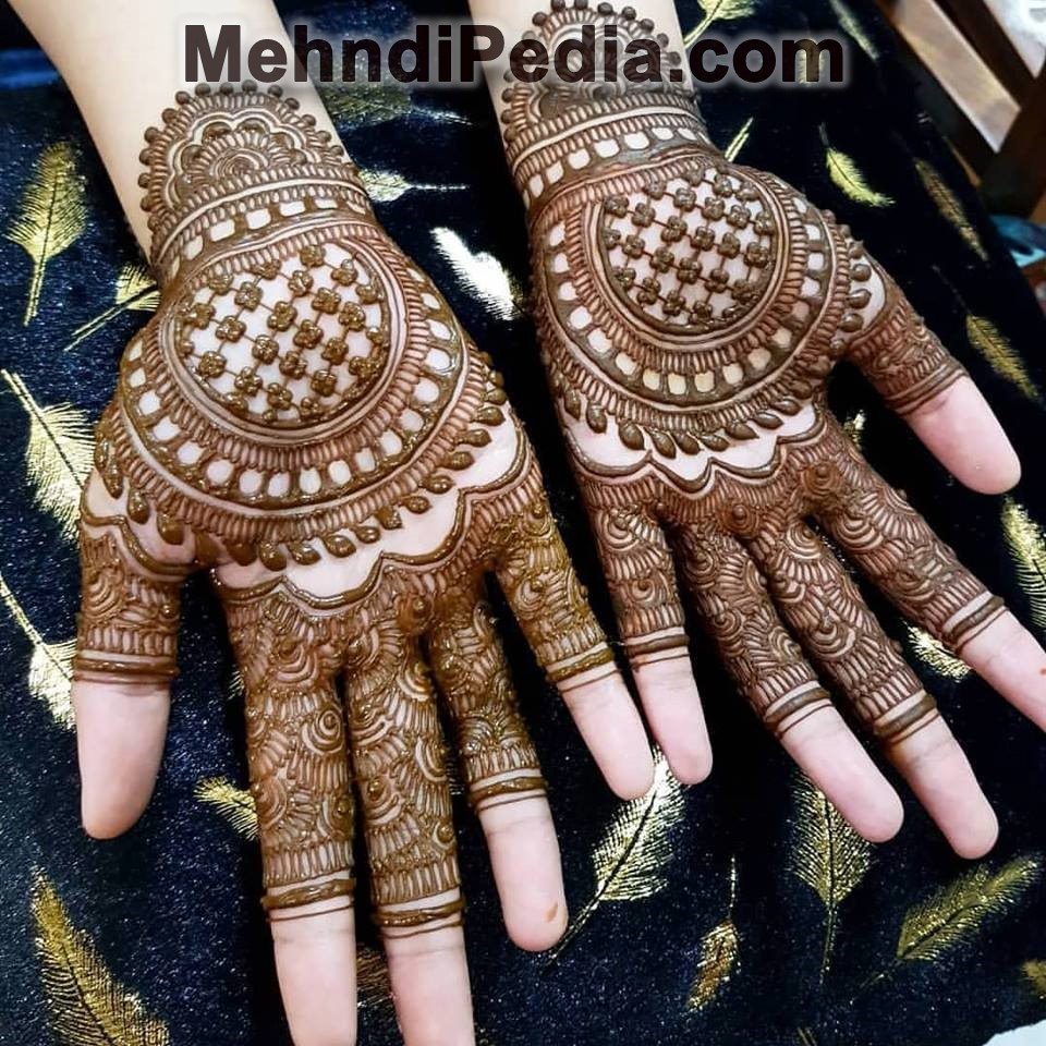 SIMPLE MEHNDI DESIGNS FOR FRONT HANDS , Mehndi Pedia