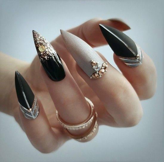 left hand nail art designs beautiful